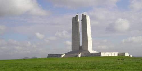Photo parc commémoratif canadien de la crête de Vimy
