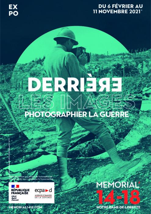 expo derrière les images - photographier la guerre mémorial 1418 ECPAD
